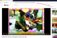 Tampilan Buka Youtube Mars PAUD Jateng
