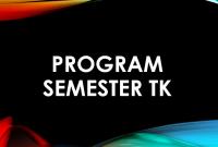 contoh program semester tk