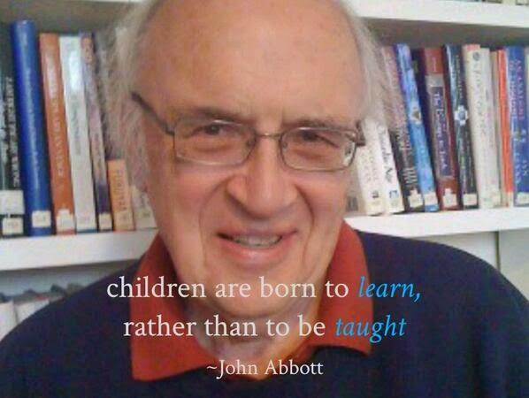 Anak-anak lahir siap untuk BELAJAR, ketimbang untuk DIAJAR
