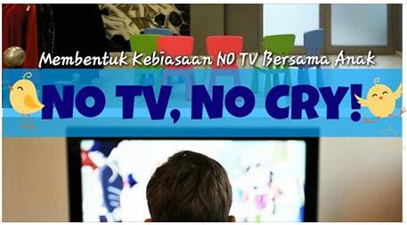 menjauhkan anak dari tv agar anak tidak suka nonton tv