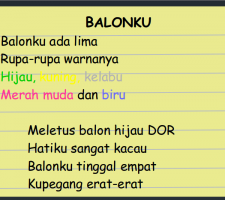 balonku lagu anak anak2 chord ada 5 download lima youtube trio kwek medley