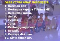 Dasa Citra Anak Indonesia