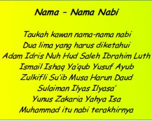 lagu anak nama nabi mp3 lagu anak2 nama nabi nama nama nabi lagu anak anak