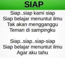 Siap Belajar, Lagu Anak Tema Sekolahku
