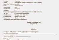 Contoh Surat Permohonan Pindah Sekolah Tk Paud Jateng