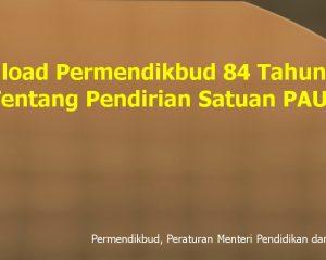 permendikbud 84 tahun 2014 pdf no tentang pendirian satuan paud nomor download permendiknas isi