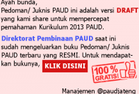 Pemberitahuan Penting dari PAUD Jateng