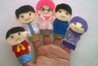 mainan boneka jari anak