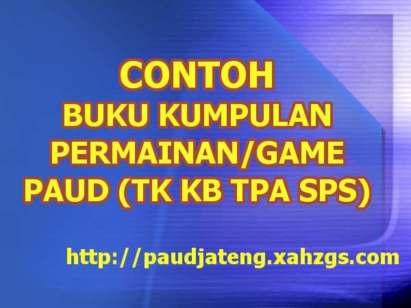 Buku Kumpulan Permainan Anak Tk Kumpulan Kaset Cd Dll Paud Jateng