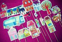 Wayang Anak Kreatif, cara membuat wayang untuk anak tk dan kelompok bermain
