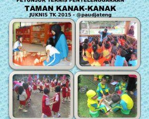 Pedoman Petunjuk Teknis Juknis TK taman kanak kanak terbaru