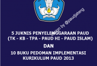Buku Pedoman Implementasi Kurikulum 2013 PAUD Terbaru