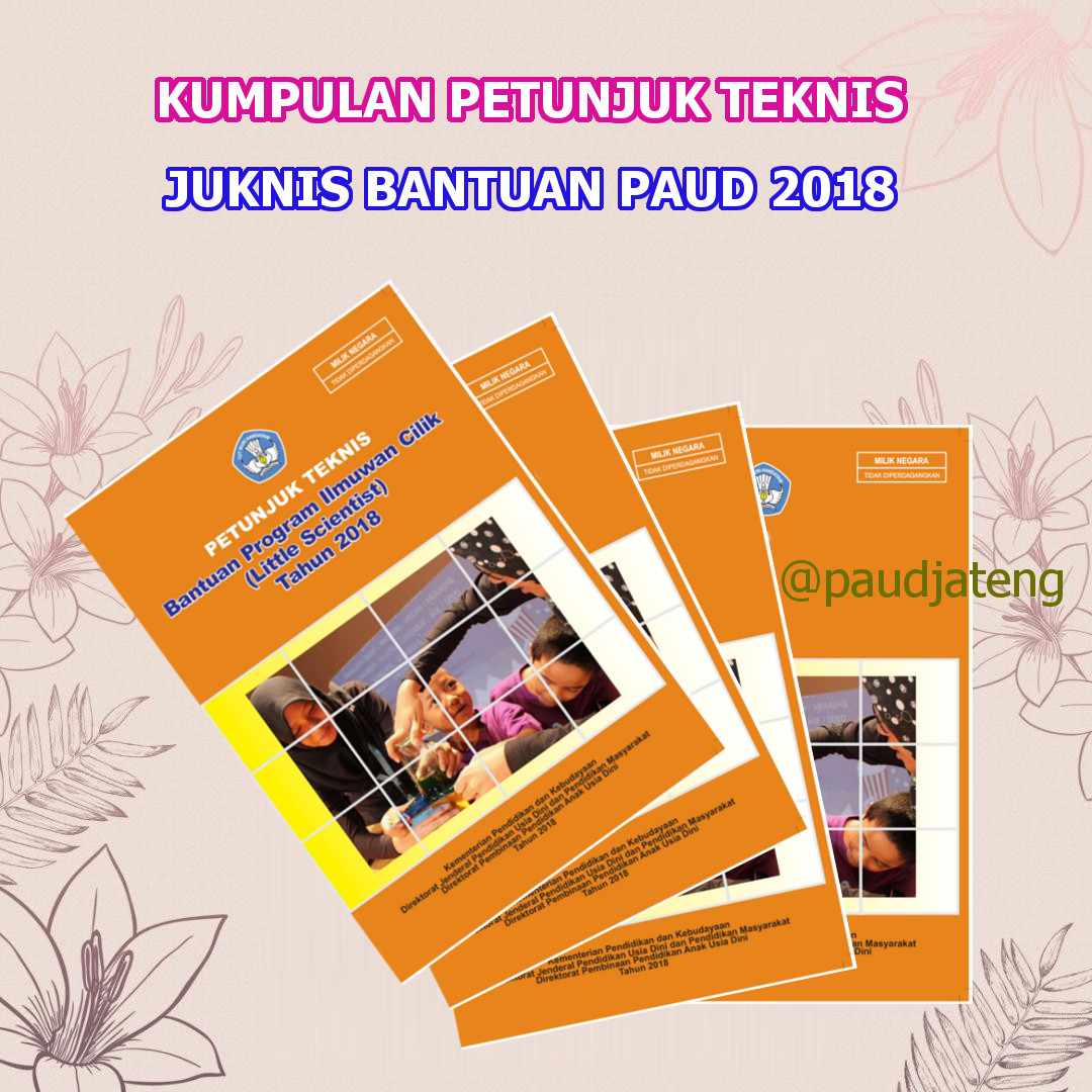 Petunjuk Teknis Juknis Bantuan PAUD 2018